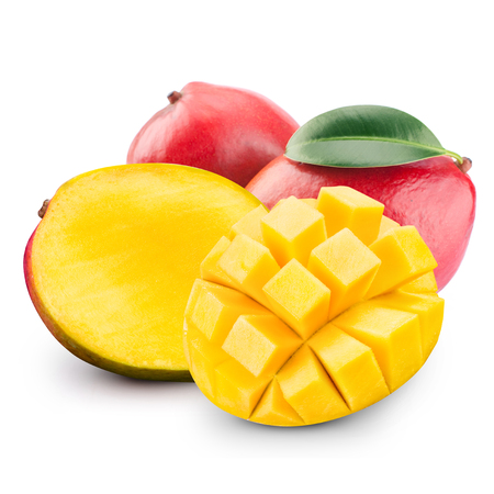 mango fruit: mango fruit isolated Stock Photo