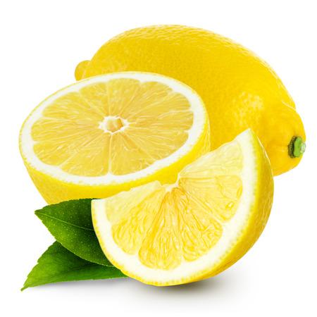 Zitrone isoliert Standard-Bild - 36163797
