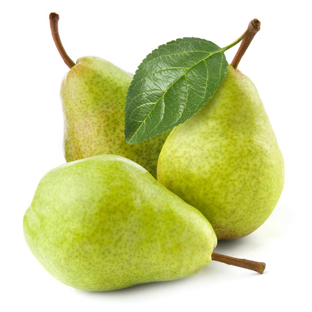 williams: pears isolated on white background Stock Photo