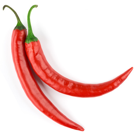 red chilli: chili pepper isolated