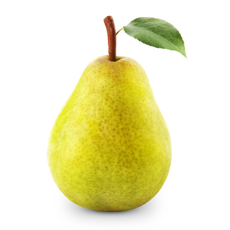 williams: pears isolated Stock Photo