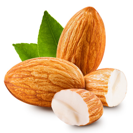 nuts: almonds nuts isolated