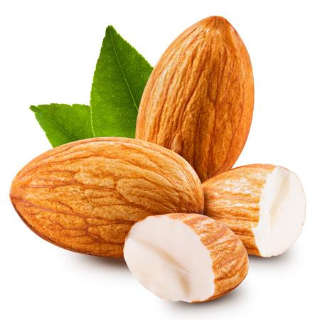 geïsoleerd amandelen noten