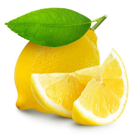 lemon isolated in white