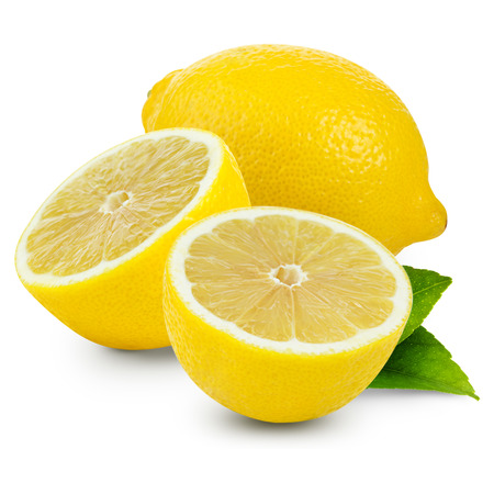 Zitronen isoliert Standard-Bild - 36774416