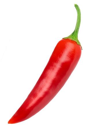 Chili pepper isoliert Standard-Bild - 37250342