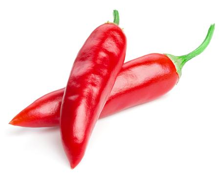 Chili pepper isoliert Standard-Bild - 37250345