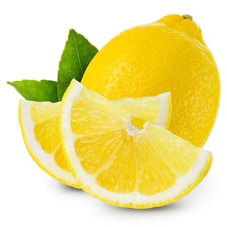 bitter fruit: lemons isolated