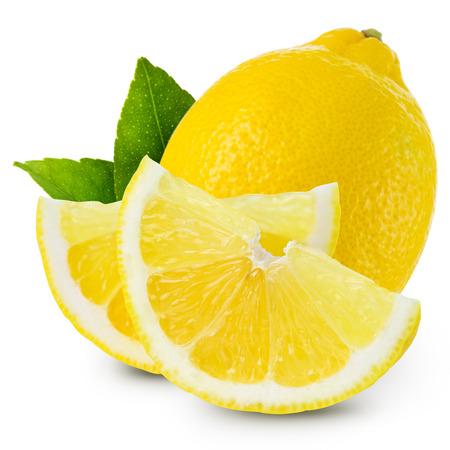 fresh taste: lemons isolated