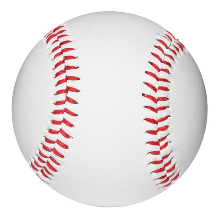 new ball: Baseball ball.  Stock Photo