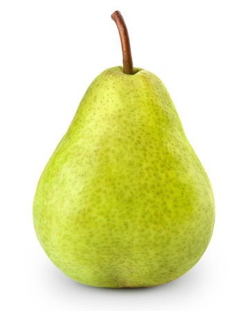 pears isolated on white background 写真素材