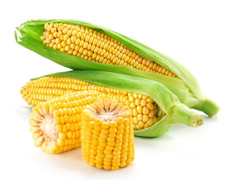 corn: Corn on the cob kernels