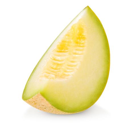 noone: cantaloupe melon isolated on white Stock Photo
