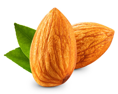 almond: almonds nuts isolated