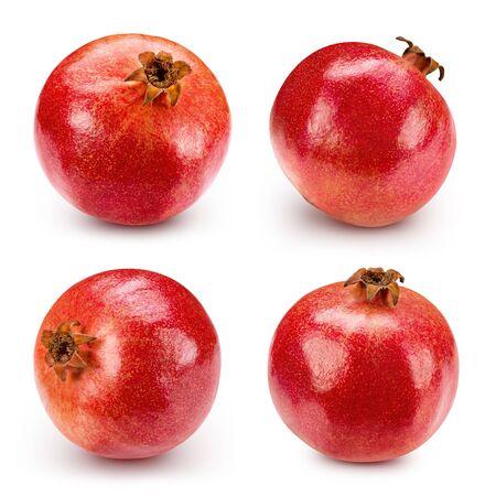 pomegranate: Pomegranate isolated on white background