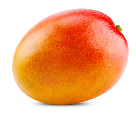 fresh mango isolated on white background