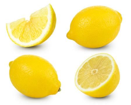 Lemon fruits collection   Foto de archivo