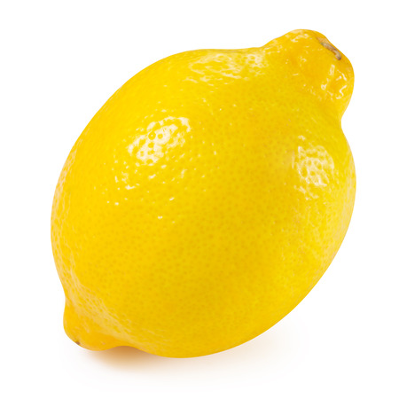 Lemon fruits collection Clipping Path Stockfoto