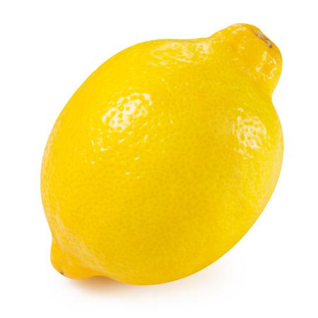 Lemon fruits collection Clipping Path Archivio Fotografico