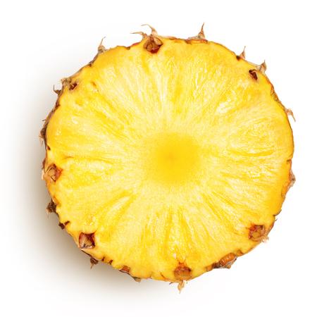 pineapple: dứa với những lát cô lập Clipping Đường dẫn