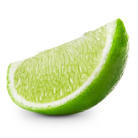 lime slice isolated Clipping Path