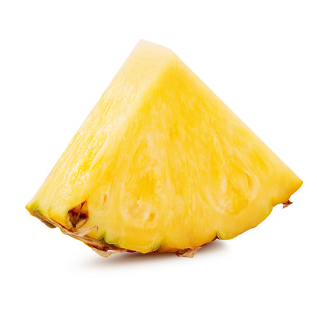 pineapple slice: pineapple slices isolated Clipping Path