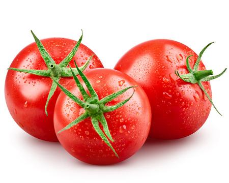 vegetables on white: Tomato vegetables isolated on white background Stock Photo