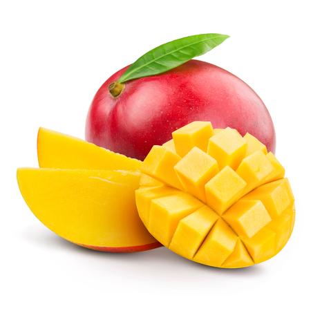 マンゴー果実の分離 写真素材