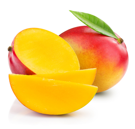 mango fruit isolated Stock Photo
