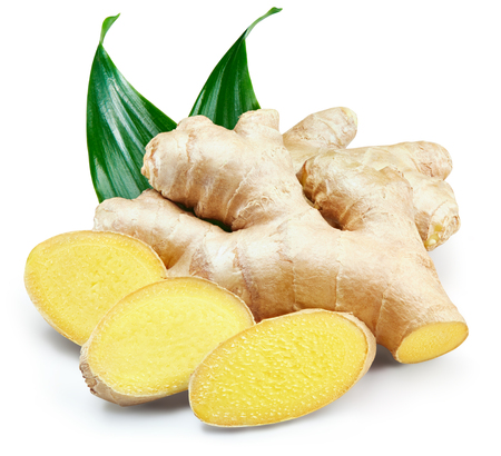 Ginger Isolated on a white