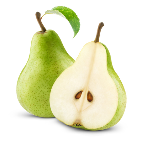 pears with leaf