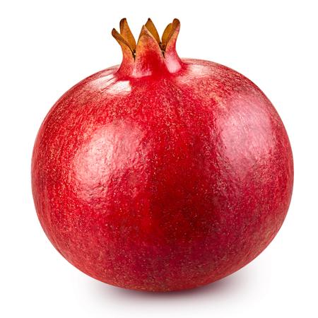 pomegranate fruit isolated 스톡 콘텐츠