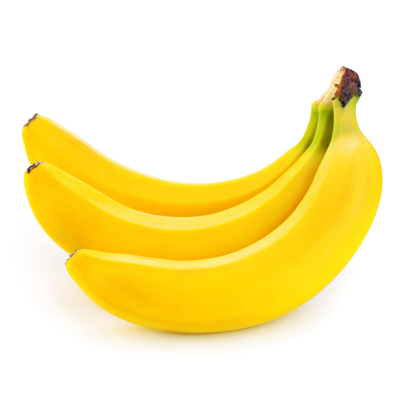 banana isolated on white Stock Photo - 96208860