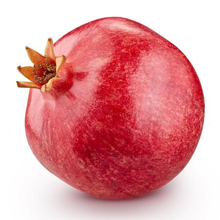 pomegranate fruit isolated 版權商用圖片