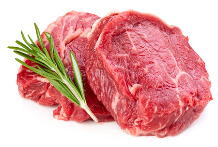 Fresh raw beef meats Stockfoto