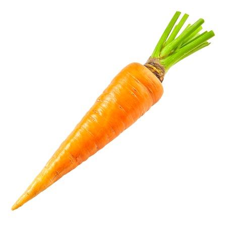 Karotten isoliert auf weiß