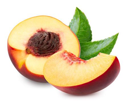 Peach isolé chemin de détourage