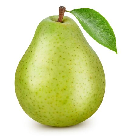 Pears isolated on white Standard-Bild - 128009753
