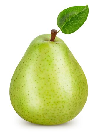 Pears isolated on white Standard-Bild - 128009781