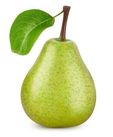 Pear isolated on white Standard-Bild - 128178587