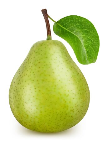 Pear isolated on white Standard-Bild - 128178601