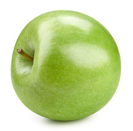 Green apple isolated on white Standard-Bild - 128178613