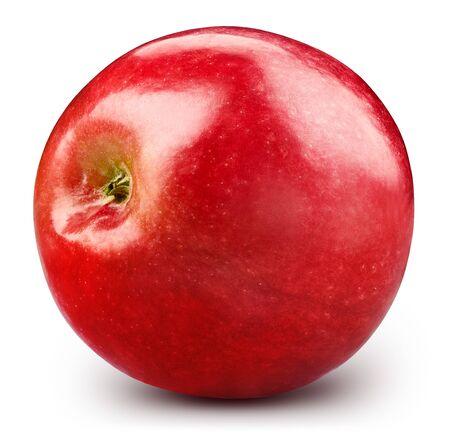 Red apple isolated on white. Standard-Bild - 128281967