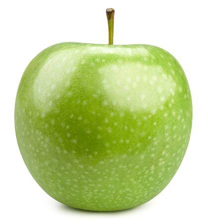 Green apple isolated on white Standard-Bild - 128507955