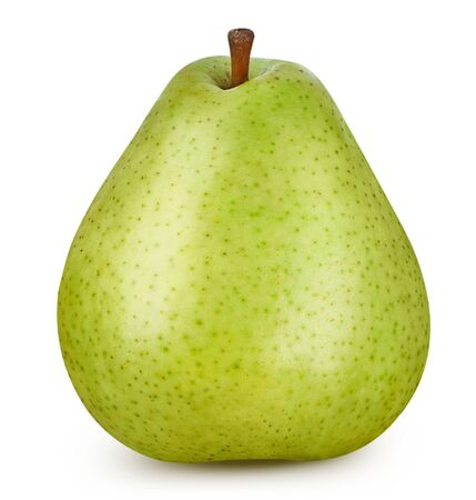 Pear isolated on white Standard-Bild - 128508146