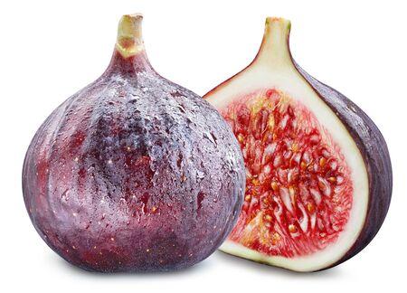 Figs isolated on white background. Standard-Bild - 129155527