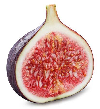 Fig isolated on white background. Standard-Bild - 129213213