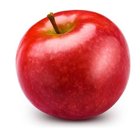 Red apple isolated on white. Standard-Bild - 129782418