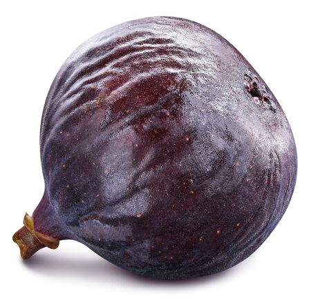 Fig isolated on white background. 스톡 콘텐츠