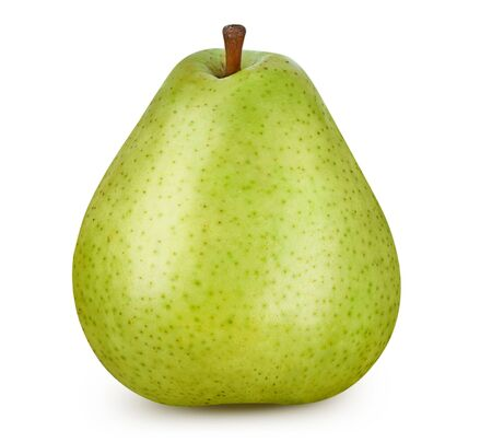 Pear isolated on white.